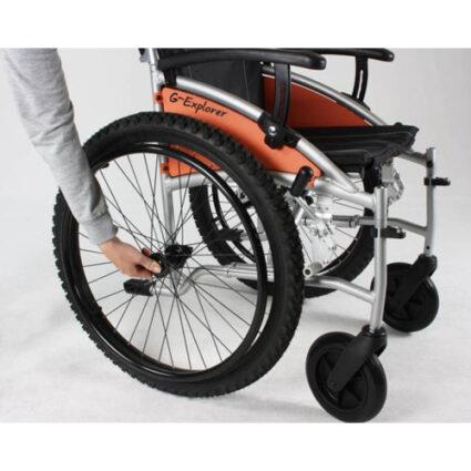 rolstoel excel g explorer wiel