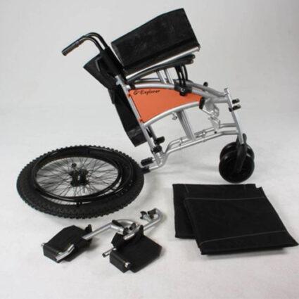 rolstoel excel g-explorer gedemonteerd